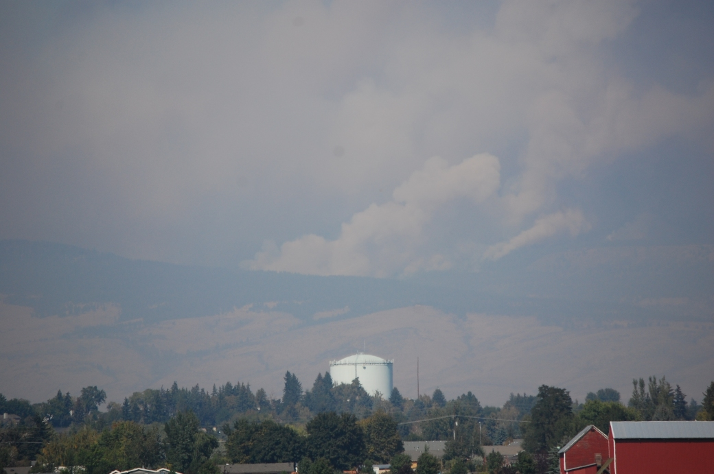 Wenatchee fire - near Ellensburg, WA