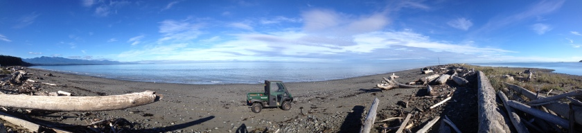 Dungeness Spit panorama