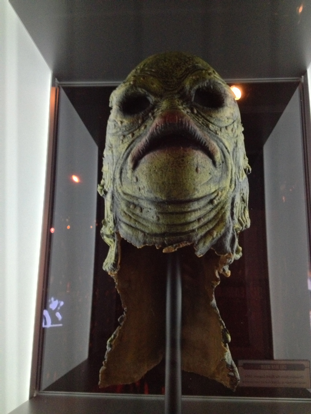 """Mask from """"The Creature From the Black Lagoon"""""""