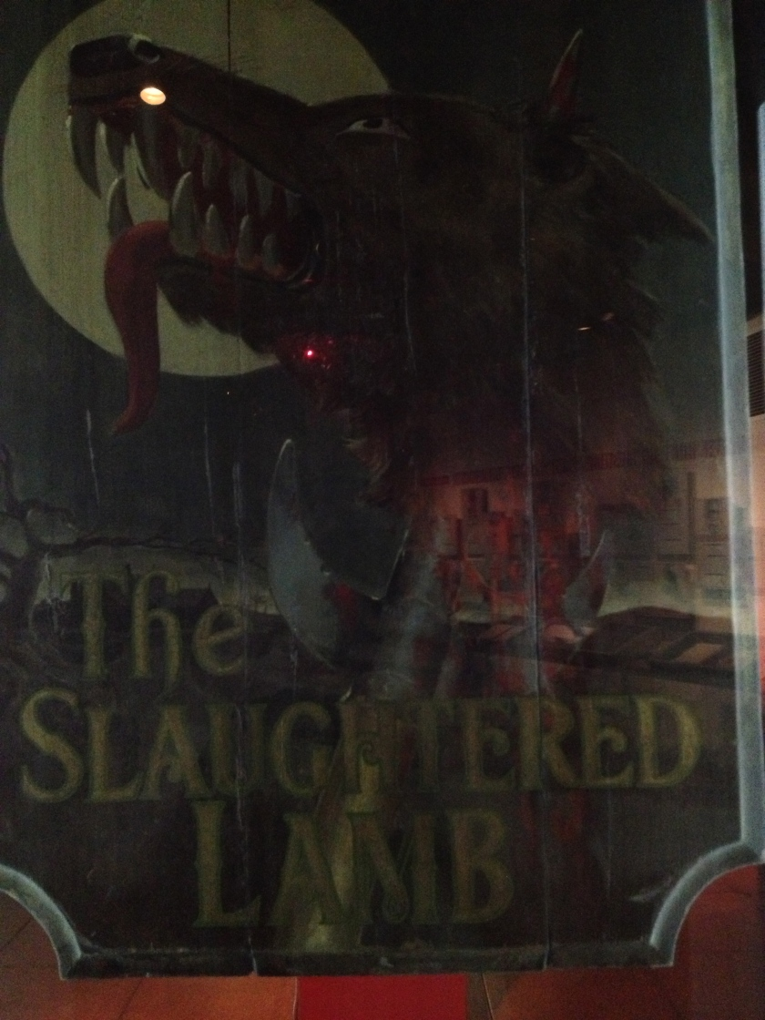 """Pub sign from """"American Werewolf in London"""""""