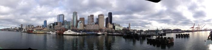 Seattle Waterfront Panorama