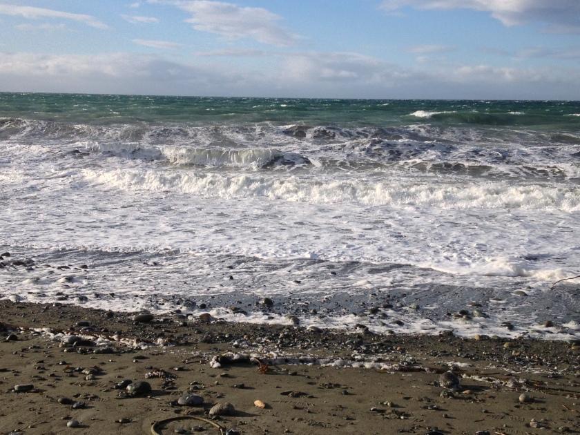Pretty big waves