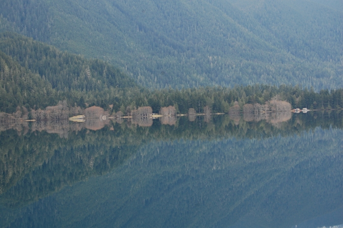 Lake Crescent - along US 101 in Washington