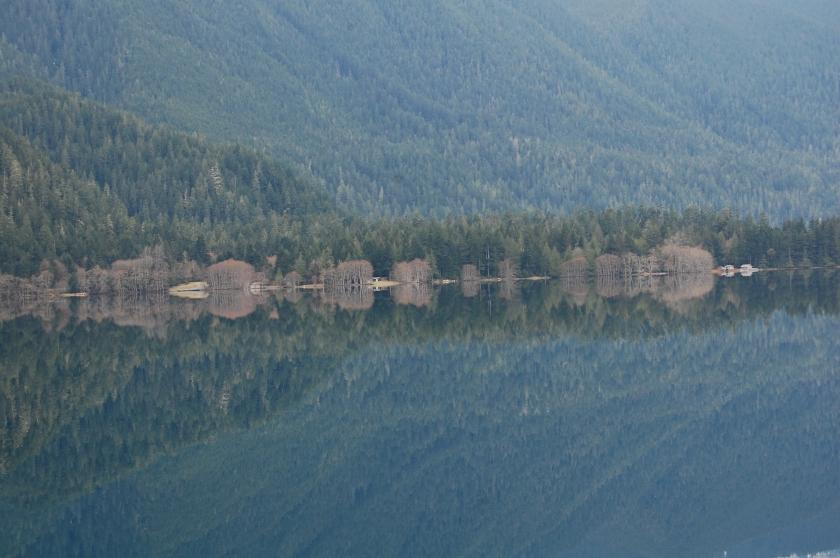 Lake Crescent - along US 101 in Washington