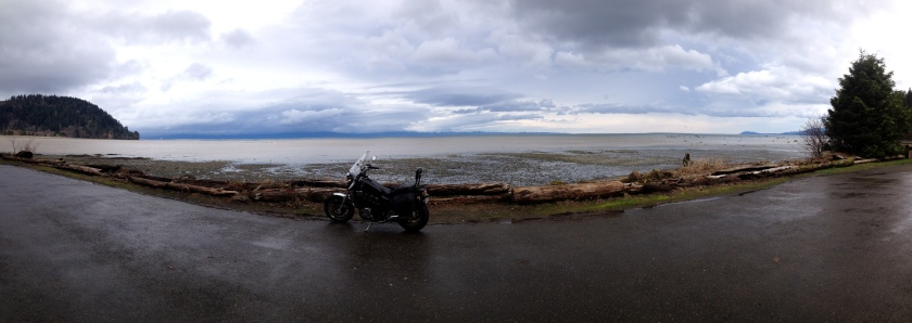 Panorama of Pillar Point - Washington