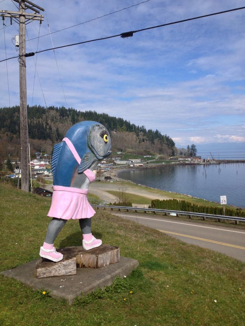 "Something they call ""Rosie"" - Washington state highway 112 near Seiku"
