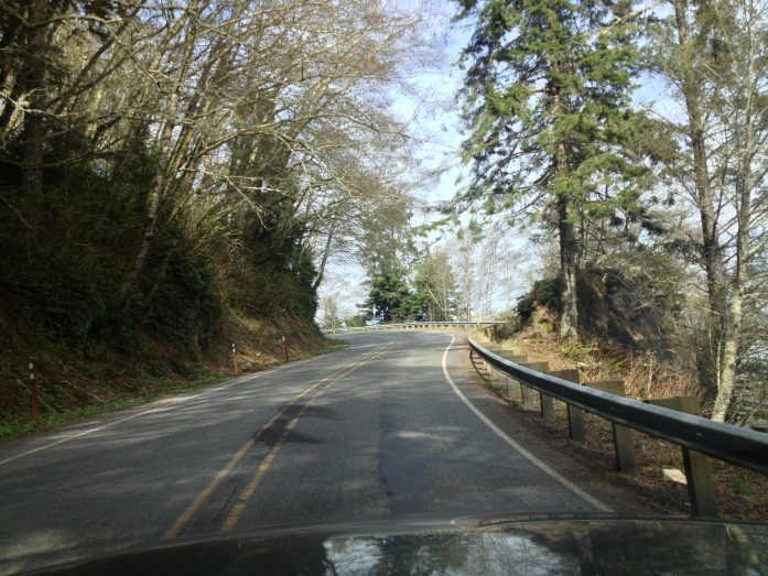 Washington state highway 112 near Seiku