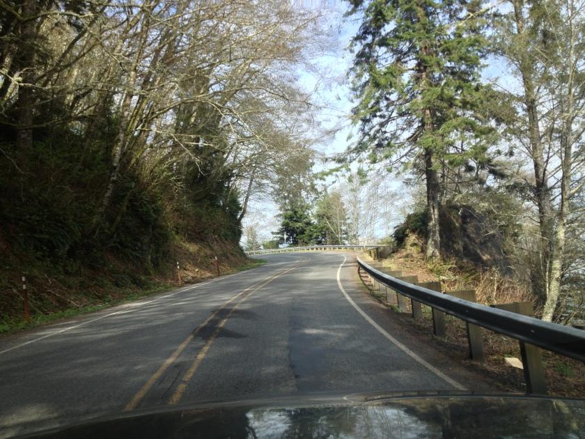 Washington state highway 112 near Seiku