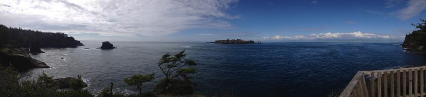 Panorama of Cape Flattery - Neah Bay, WA
