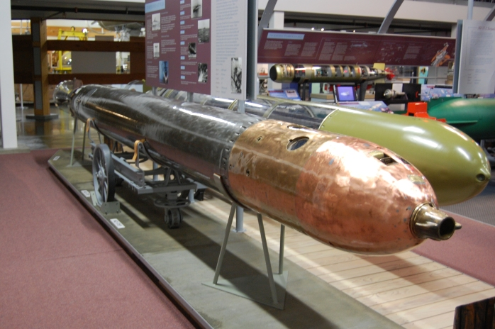 German Torpedo - Naval Undersea Museum - Keyport, WA