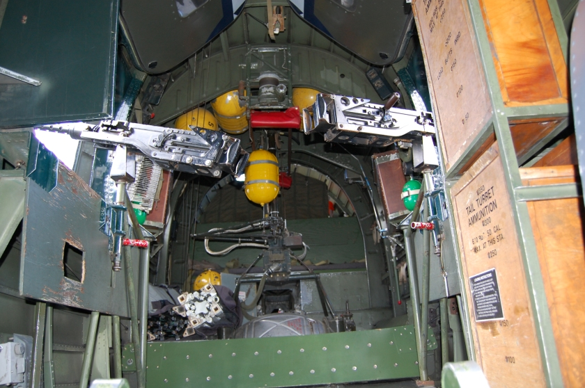 "Side guns - B-24 Liberator - ""Witchcraft"""