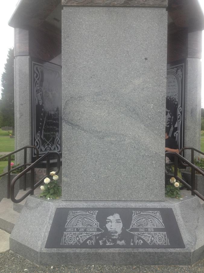 Jimi Hendrix Memorial - Renton, WA