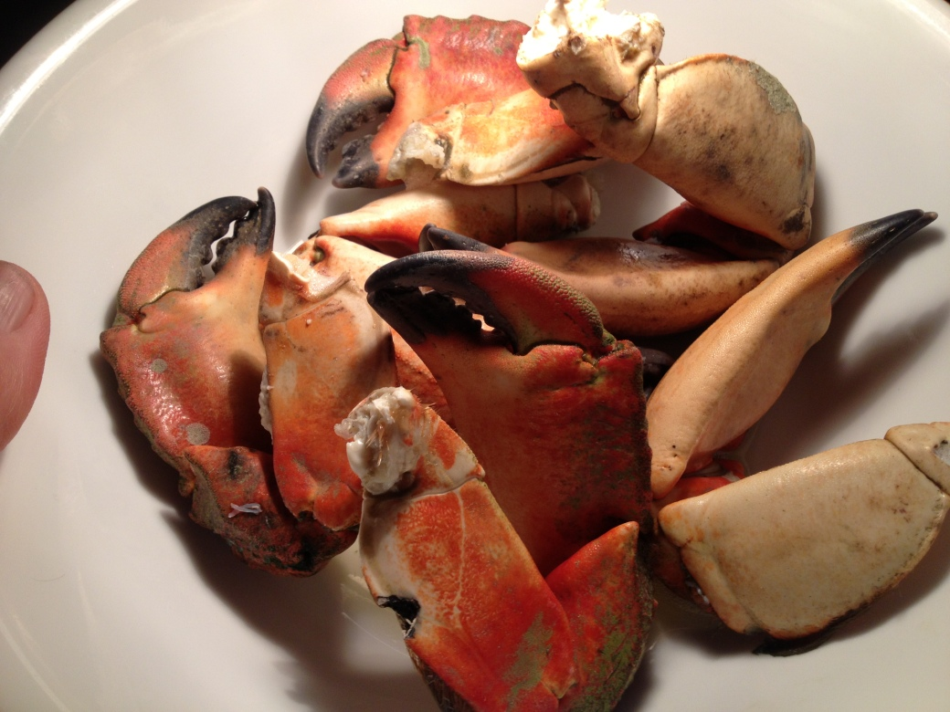 Red Rock Crab Claws