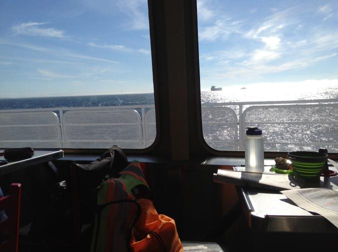 Headed over to Victoria - Strait of San Juan de Fuca