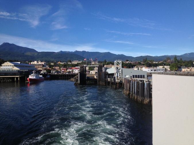 Leaving Port Angeles