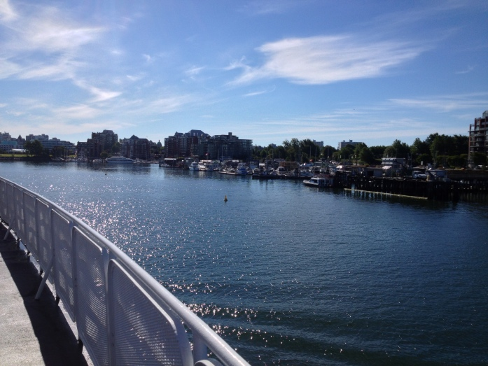 Heading into port - Victoria, BC