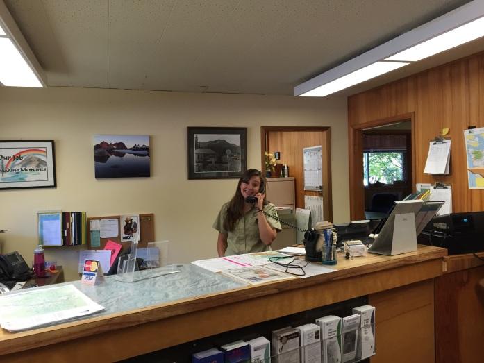 Meghan at Work