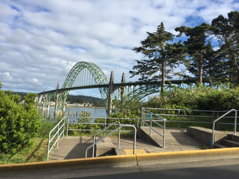 Bridge in Newport, OR