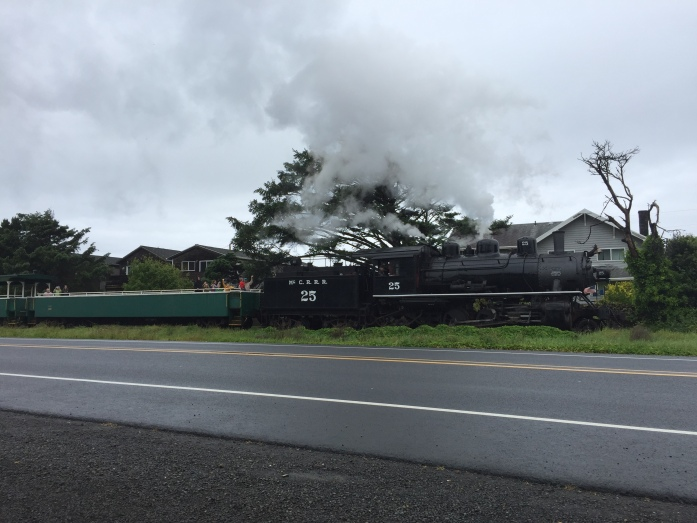 Steam Train - Rockaway Beach, OR